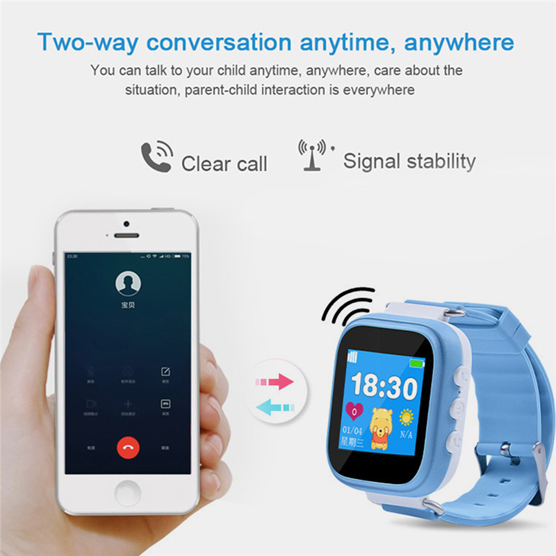 Q80 GPS Child Smart Watch Phone Position Children Watch