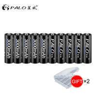 100% original PALO de batería 3000mah 1,2 V Ni-MH batería recargable baterías Pre-cargado 2A baterías para la cámara