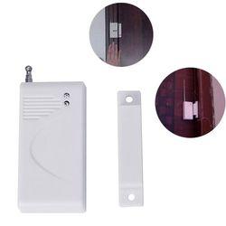 Battery Power Magnetic Contact Sensor Wireless Window Door Sensor 433MHz 1527 Code For Any Wireless Burglar Alarm Panel