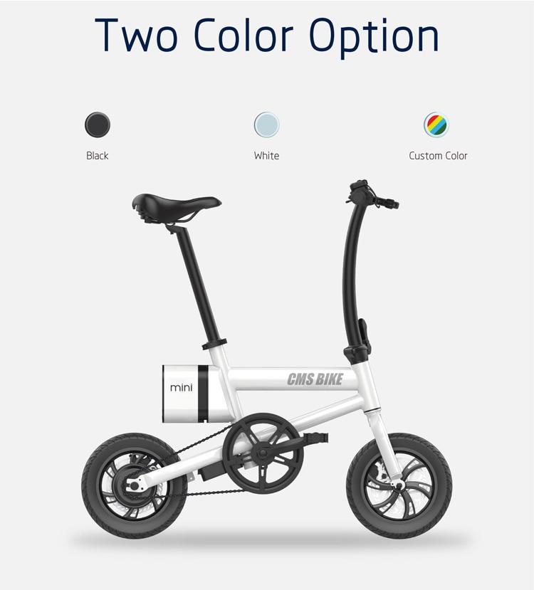 12 inch folding e bike adult mini foldable ebike city folding electric bicycle 10