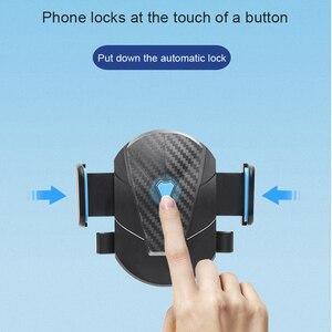 Image 5 - 重力自動車電話ホルダー iphone 11 プロマックスサムスン吸引カップ電話車の携帯電話ホルダースタンドベント