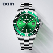 Quartz-Watch Clock Luminous-Wristwatch MEGALITH Multifunction Waterproof Men Sports