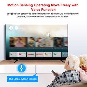 Image 3 - H17 Stimme Fernbedienung 2,4G Wireless Air Maus mit IR Lernen Mikrofon Gyroskop für Android TV Box HK1 Max x88 pro