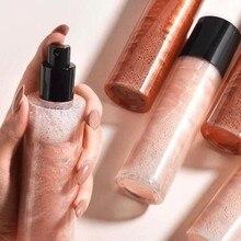 Body Bronzer Highlighter Liquid Setting Spray Illuminating Face Shimmer Long-lasting Brighten Glow Face Glow Highlighter Makeup