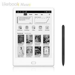 Likebook Muses электронная книга с 7,8 дюймовым сенсорным экраном 1,5 PPI E-Ink 8 ядер 6,0 ГГц, встроенный звуковой 2 ГБ/32 ГБ Android Подарочный карандаш