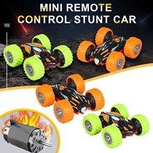 Car Remote-Control-Car Mini Radio Vehicle Crawler-Roll Two-Sided Rotation Tumbling