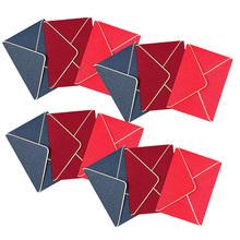12 szt Opalizujący papier prosty pozłacany koperta papiernicza na zaproszenia tanie tanio CN (pochodzenie)