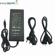 цена на 100V - 240V AC/DC 12V 5A 5.5mm 2.1mm AC DC Power Supply Adapter for strip wholesale US AU EU UK Plug