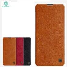New For Samsung Galaxy A51 4G Case NILLKIN PU Leather Flip Case For Samsung Galaxy A51 A31 Wallet Leather Case