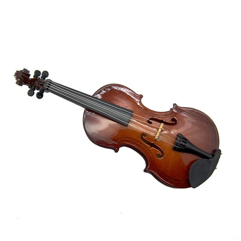 Miniatur Violine Geige Mini Musikinstrument als Dekoration