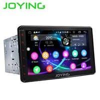 JOYING 2 din auto radio Android 8.1 Octa Core 8 zoll 1024*600 Unterstützung 4G schnelle boot DSP SWC GPS Navigation universal auto radio HD