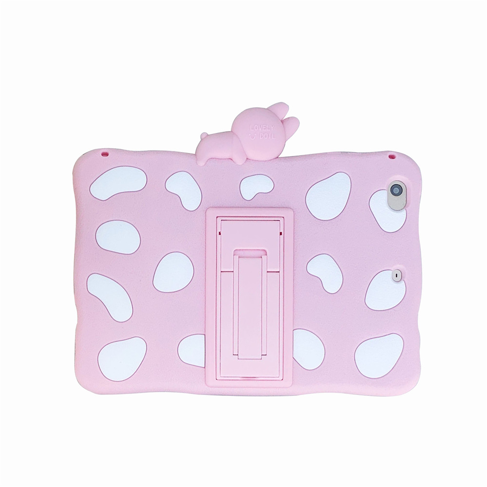 Pink Rabbit Red Kids Stand Soft tablet Capa Case For 2020 ipad pro 11inch Cute Rabbit Cartoon Silicon Funda