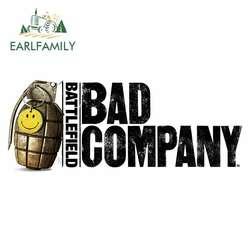 EARLFAMILY 13cm x 6cm Battlefield Bad Company Funny Car Stickers Waterproof Bumper Decoration Occlusion Scratch Vinyl Car Wrap