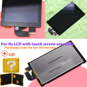Image 2 - Original for NS console lcd display + touch screen Full screen assembly replacement for Nintend Switch accessories