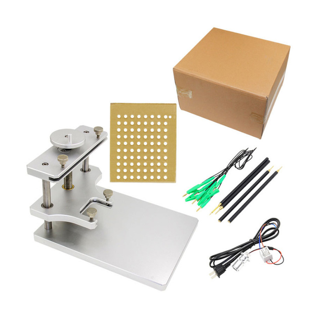 LED en acier inoxydable BDM cadre pour Ktag KESS Galletto FGTECH BDM100 métal BDM cadre ECU outil de programmation de haute qualité