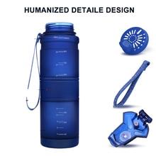 Sport Water Bottles 500 ML Protein Shaker Outdoor Travel Portable Leakproof Tritan plastic Large Capacity Drink Bottle BPA Free