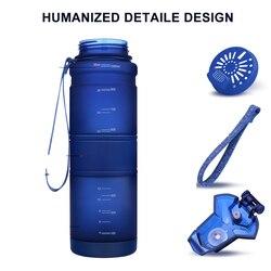 Sportowe butelki na wodę 500 ML blender do napojów Outdoor Travel przenośna szczelna Tritan plastikowa butelka do picia o dużej pojemności BPA Free