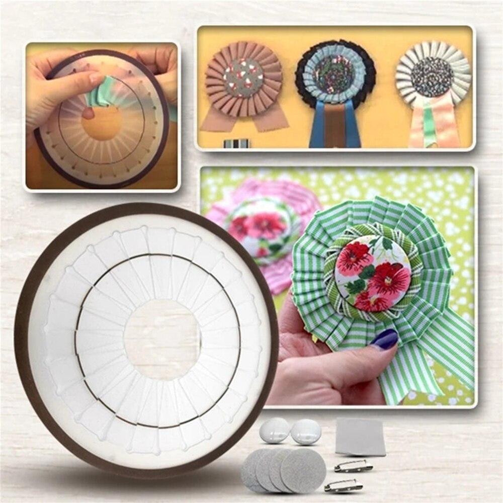 Creative handmade ribbon flower decoration making tool ribbon flower making tool rose flower home decoration