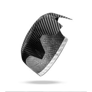 Image 5 - carbon fiber Modification Accessories Steering wheel center decoration car styling For MINI COOPER Clubman S F54 F55 F56 F57 F60