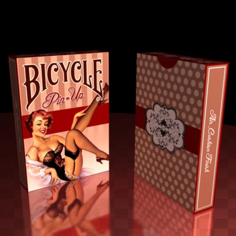 Bicycle Pin-Up Playing Cards Regular Bicycle Deck Rider Back Card Magic Trick Magic Props