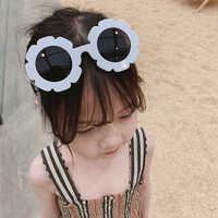 Gafas de sol para niños, accesorios encantadores, gafas de sol para niños, forma redonda de flor, gafas de sol deportivas adorables, venta al por mayor, 2020