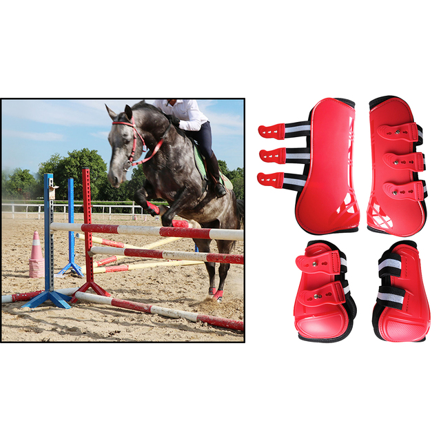 Tendon Boots Fit Snuggly For Your Horses Protection  5