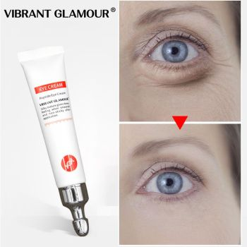 VIBRANT GLAMOUR Eye Cream Anti-Wrinkle Peptide Collagen Serum  Anti-Age Remover Dark Circles Against Puffiness And Bags Eye Care недорого
