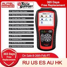 Autel AutoLink AL619 AL519 Động Cơ ABS SRS Túi Khí OBD2 Mã Quét Chính Hãng