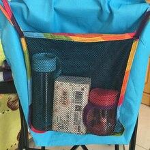 Hot Infant Pram Cart Mesh Hanging Storage Bag Baby Trolley Bag Stroller Organizer Seat Pocket Carriage Bag Stroller Accessories