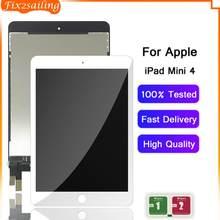 Сменный ЖК-дисплей для Apple iPad Mini 4, сменная панель сенсорного экрана для iPad mini 4, A1538, A1550