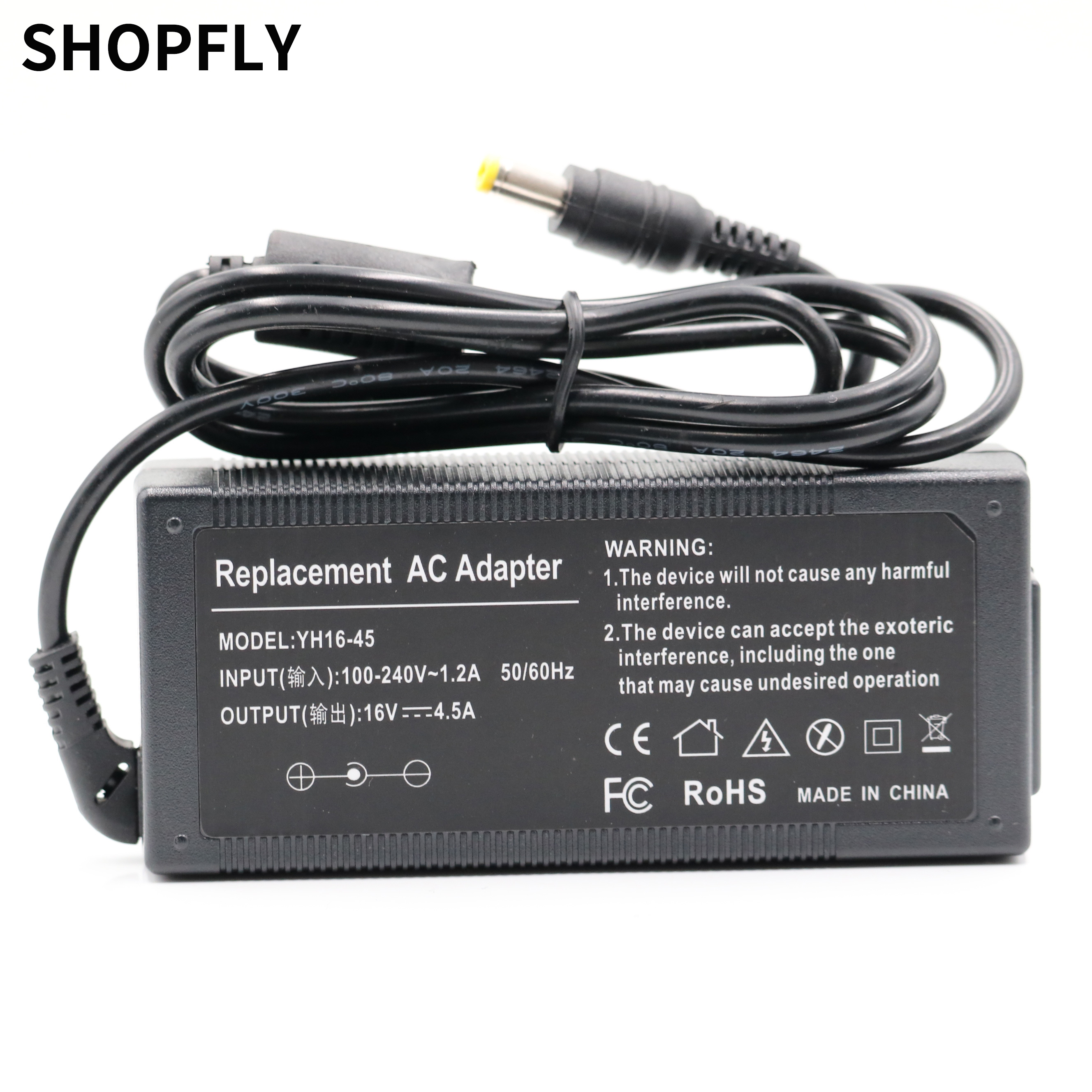 AC Adapter Charger For IBM ThinkPad T40 T41 T42 T43 08K8204 08K8205 16V 4.5A 72W 5.5*2.5mm Power Supply