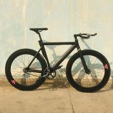 Cadre de vélo de piste en alliage d'aluminium, 52cm, jante de 70mm avec frein v-brake