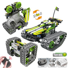 new STEM toys kids building blocks motor rc auto legoINGlys technical car with remote control set kit