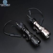 Surefir M951 LED versiyonu süper parlak taktik avcılık el feneri silah izci ışıkları uzaktan basınç anahtarı Fit 20mm ray