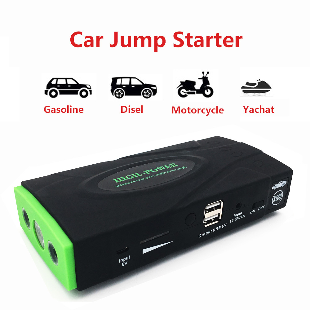 Hight Capacity Car Jump Starter 600A Portable Power Bank Booster Charger 12V Auto starting Petrol Diesel Car Starter|Jump Starter| |  - title=