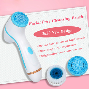 Image 3 - Brosse de nettoyage du visage Sonic Nu visage Spin brosse ensemble Galvanica système de Spa du visage pour le nettoyage en profondeur de la peau supprimer la Machine à points noirs