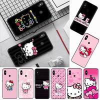 Custodia per telefono rosa-hellos-kitten ys-lovelys per Xiaomi Redmi mi note max 3 5 6 8 9 10 t S SE lite pro borse per cellulare in Silicone morbido