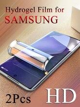 רך הידרוג ל סרט עבור Samsung הערה 20 20Ultra גלקסי Note8 Note9 Note10 10 בתוספת HD מסך מגן קצה כיסוי