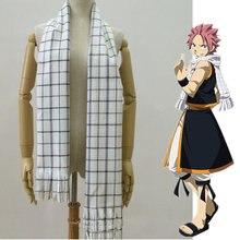Anime lenço de fadas cauda papel natsu dragneel cosplay traje lenços lenço quente