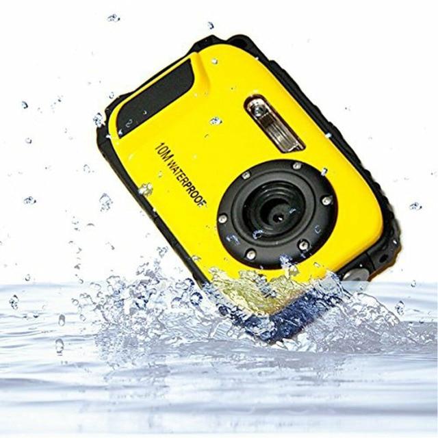 16MP Handheld Underwater Sports USB Detection Anti Shake Mini Professional LCD Display Camcorder Digital Video Waterproof Camera