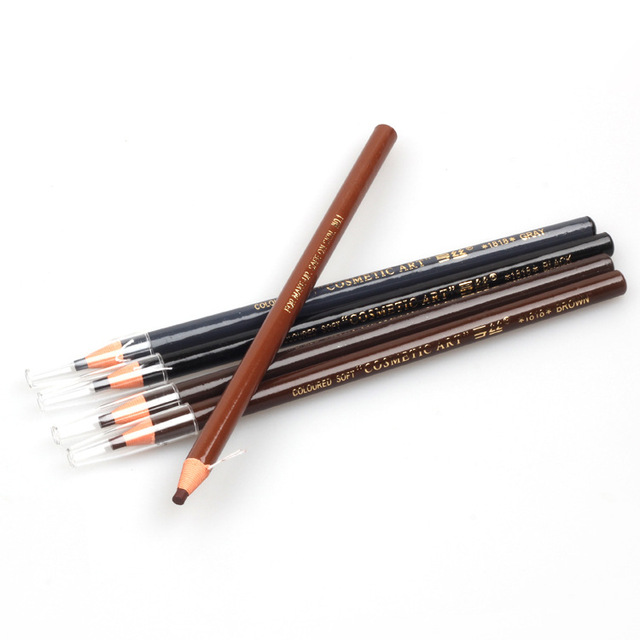 1PC  Microblading Eyebrow Tattoo Pen Waterproof Permanent Makeup  Eye brow Pencil Positioning Lip Eyebrow cejas maquillaje 4
