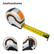 Tape Measure 5m*25mm with Nylon Coating Self Lock Double Sided Graduation Metric Size Measuring Anti-Shock and Non-Slip