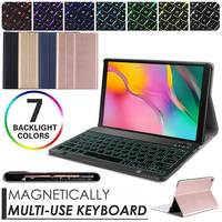 Backlight Wireless Keyboard Case For iPad Mini 5 4 3 2 1 Leather Stand Cover Bluetooth Keyboard Case for Apple iPad Mini 7.9''