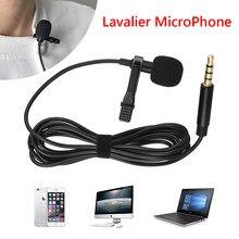 Mini USB Mikrofon Revers Lavalier PC/Telefon/Kamera Mic Tragbare Externe Knopfloch Mikrofone für Telefon Laptop Computer