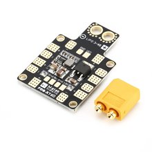 цена на PDB XT60 Drone Lipo 3-4S Power Distribution Board with W/ BEC 5V 2A 12V 0.5A for RC FPV Drone Quadcopter Helicopter