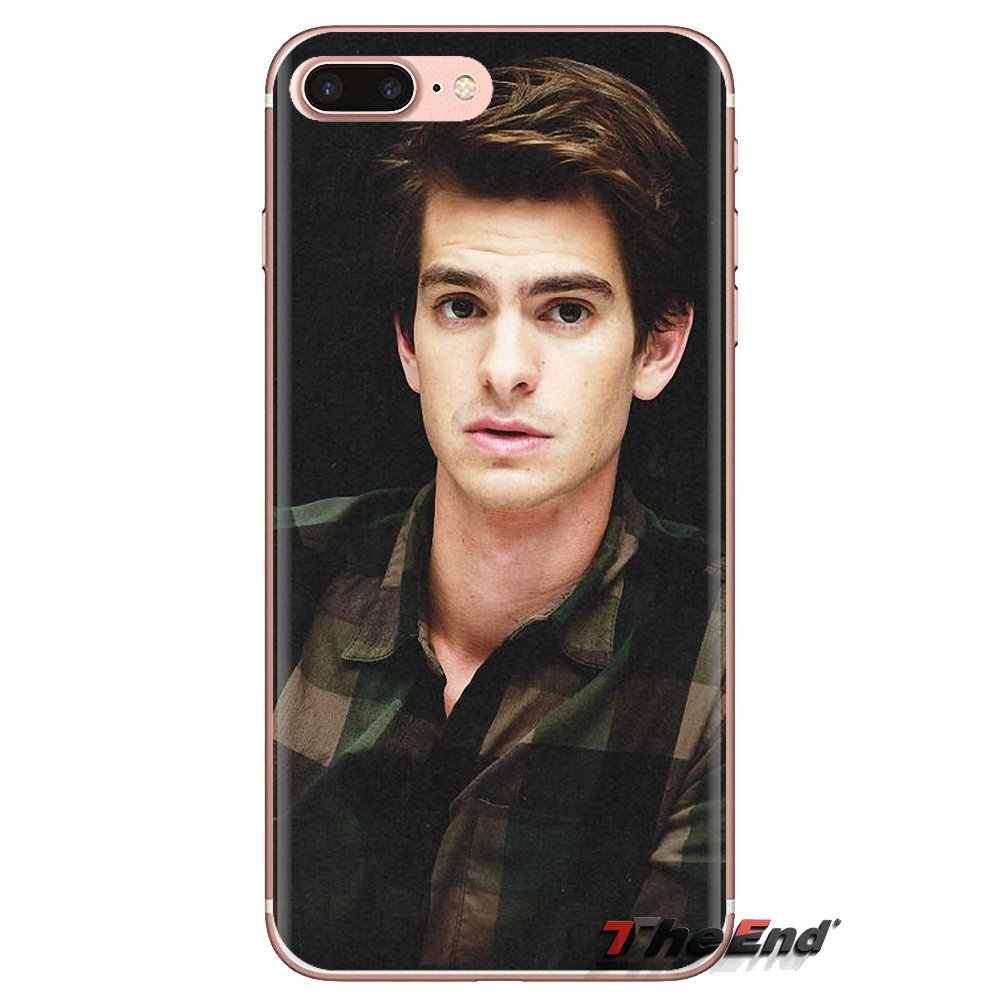 Spider Man Peter Parker Andrew นุ่มโปร่งใสสำหรับ iPod Touch Apple iPhone 4 4S 5S SE 5C 6 6S 7 8 X XR XS Plus MAX