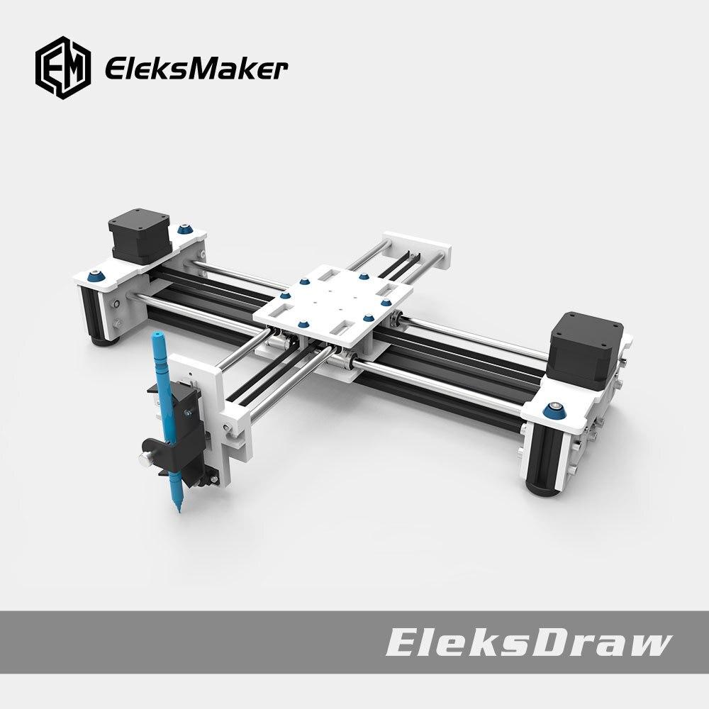 Drawing Writing Robot Machine Draw Bot Desktop DIY Xy Plotter High CNC Precision Drawing Writing Robot Eleksdraw Smart Apparatus