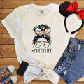 Cheer Life Female Tops Fireworks Printing Women Shirt Unisex Comfort Fashion Tee Gothic Punk Clothes Vacation Womens Tee