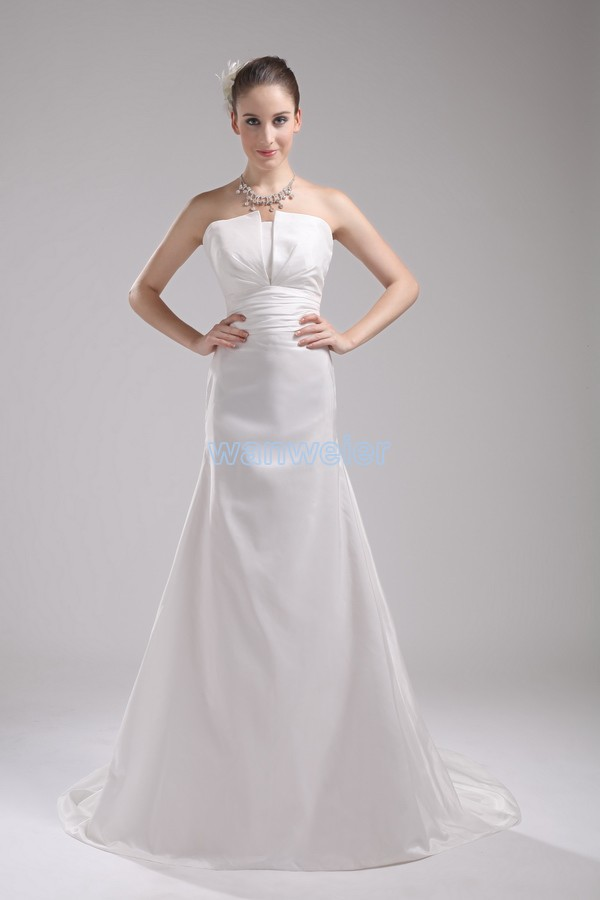 Free Shipping Party Dresses New Fashion 2016 Hot Sale Custom Maxi Dress Halter White Ivory Debutante Gowns Taffeta Wedding Dress