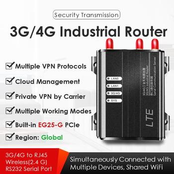 4G/3G LTE Industrial Wireless WiFi Router 2.4Hz 300M W/SIM Card Slot EG25-G Mini PCIe Modem Global Version VPN VPDN PPTP L2TP eg25 eg25 g mini pcie worldwide global 4g lte industrial modem fdd lte b1 b2 b3 b4 b5 b7 b8 b12 b13 b28